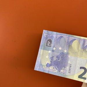 001 Juguete película moneda y la televisión de tiro apoyos 20 euros símbolo práctica el dinero falso billete barra de juego