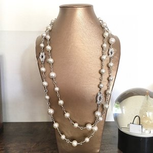 Marca de moda Hight Version Designer Pearl Collace para las mujeres Amantes de la boda Regalo Joyería de lujo para la novia con caja