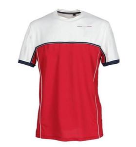 Nouveau Polo Shirt Racing Team Racing Jersey T-shirt à manches courtes à manches courtes