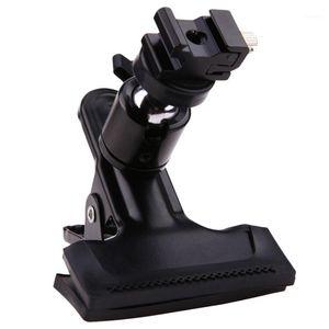 Stabilizers Professional Metal Po Studio Backdrop Clamp Ball Head Shoe Adapter Flash Light Stand Bracket W 1 4 Standard Thread1
