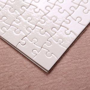 DIY Sublimation Blank Jigsaw Transfer Transfer Blank Puzzle A4 Giocattoli multi-standard per bambini Logo Personalizzazione Bumle di carta Puzzle YYS3272