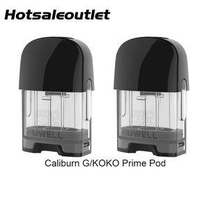 Uwell Caliburn G KOKO Prime Empty Pod Cartridge 2ml Top Filling System for Uwell Caliburn G KOKO Prime Pod Kit 100% Original