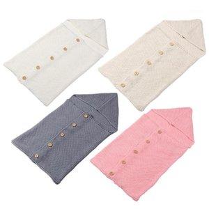 Newborn Baby Wrap Blanket Kids Toddler Solid Blanket Baby Sleeping Bag Infannt Safe Comfort Cotton Bed1 Oapkj