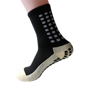 Yeni Spor Anti Kayma Futbol Çorap Pamuk Futbol Kavrama Çorap Erkekler Çorap Calcetines (TRUSOX ile aynı tip)