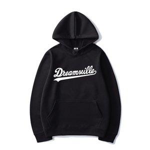 2020 Novo Dreamville Hoodies J Cole Cor Sólida Impressão Com Capuz Sweatshirt Homens Mulheres Esporte Casual Hoodie Hip Hop Pullover Tops Casaco X1022