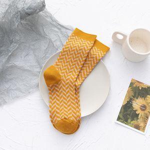 New Japanese love calf socks cute medium tube cotton candy pile style female cotton socks