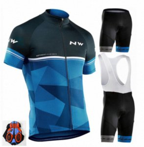 2020 2020 Cycling Jersey Set MTB Bicycle Cycling Clothing Breathable Mountian Bike Clothes Maillot Roupas Ciclismo Cq1s#