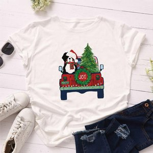 Fashion Women T Shirt Warm es New Year Merry Tee Shirt Christmas Tumblr Graphic T Female Tees Camisa Print Tops