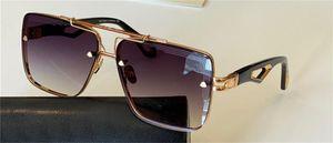 Top Männer Design Sonnenbrille Der König II Frameless Square K Goldrahmen High-End-Atmosphäre Top-Qualität Outdoor UV400 Schutzbrille