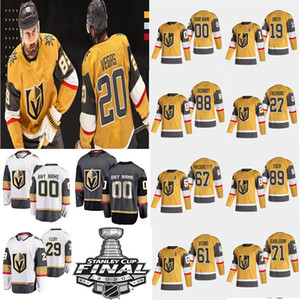 2020 Vegas Golden Knights NUEVO Jersey de hockey de oro All-Gold Jersey Erik Haula Jonathan Marchessault Reilly Smith Paul STASTNY Alex Tuch cosido personalizado
