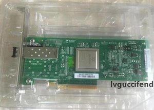 Para Qlogic QLE2560 Single Port 8Gb Fibre PCI-E Card HBA Canal com o módulo SFP