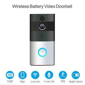 Doorbells WiFi Video Doorbell Smart Home Alarm Mobile Phone Remote Intercom AS99