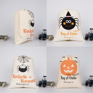 Gift Bag Square Halloween Decoration Bags Shopping Canvas Cartoon Letter Pumpkin Package Originality Hot Sale 6 6hk F2