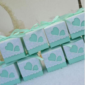 Regalo Wrap Party Favore Box Box Packaging Love Piccola caramella Decorazione di cerimonia nuziale Borse con maniglie Scatinoline Portaconfetti Cartone1