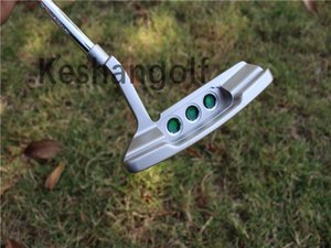 Cute little mouse logo with white golf club putter 32 33 34 35 36 inches optional