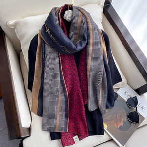 Hot new cotton and linen scarf women winter warm sand towel silk scarf color matching chain beach towel spring and autumn shawl