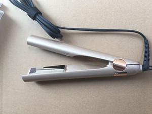 2 في 1 الشعر بكرة الشعر مستقيم التيتانيوم الذهب لوحة مع جودة عالية الولايات المتحدة الاتحاد الأوروبي المملكة المتحدة المكونات الحديد برو 2nd الجيل