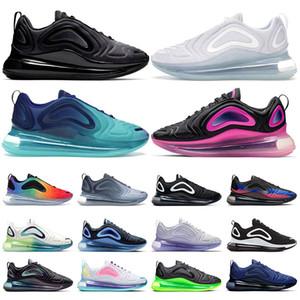 nike air max 720  Hotsale scarpe da corsa per uomo Neon triple bianco nero tramonto DESERT GOLD NORTHERN LIGHTS DAY donne sportive sneaker trainer taglia 36-45