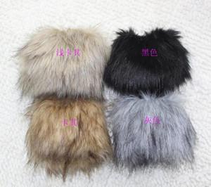 Fur Wrist Sleeve Fur Sleeve Bracelet Wrist Guard Warm Gloves Women Gloves Fashion