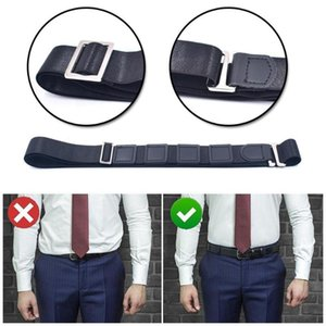 3*120cm Anti-slip And Anti-wrinkle Bandage Universal Suspenders Elastic Garter Adjustable Women Holder Shirt For Men Y9F6