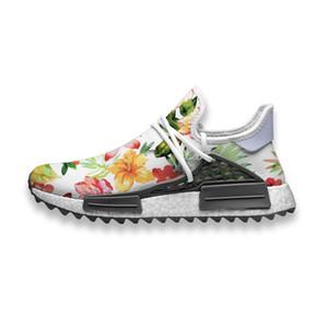 Пользовательские кроссовки Красочные Цветущий Цветы в лето Human Race НПРО Trail Mens случайные кроссовки износостойкие