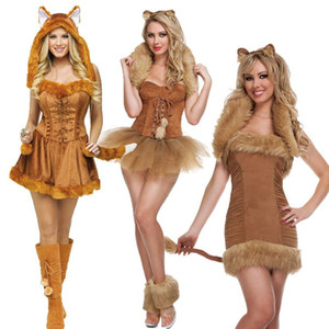 Fashion Performance Clothing Halloween Costume Witch Costume Cat Girl Role-playing Cat Women's Uniform Party Ds Girl
