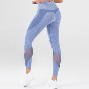 Energy Seamless Gym Sports Yoga Leggings Mesh Patchwork Women Fitness Leggings Workout Tights Sport Yoga Pants Women High Waist