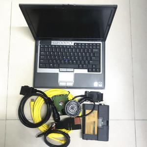 Novo para BMW ICOM A2 + B + C Diagnóstico para Programação Ferramenta com HDD 2020.06V versão coreana profissional ICOM A2 no laptop D630