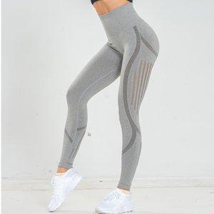 SVOKOR High Waist Seamless Leggings Gym Legging Sport Fitness Leginsy Pants Scrunch Butt Leggings Running pant Q1230