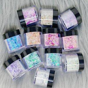 3 1 bukalemun glitter tozu tırnak sanat pigment daldırma uzatma oyma tırnak sequins süslemeleri toz akrilik powde jllhbq