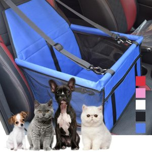 Travel Car Dog Carriers Folding Pet Dog Seat Bags Waterproof Bag Carrying For Cats Dogs Car Mat Hammock Pet Bag Puppy Carrier