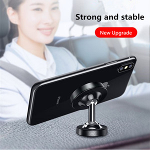 Magnetic Car Phone Holder Universal Dashboard Magnet GPS Stand in Car For iPhone 12 Mini Pro Max Xiaomi Huawei Dual axis Desktop