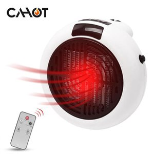 CAHOT 220V Mini Electric Heater Fan Desktop Heating Warm Air Fan Home Office Wall Handy Air Heater Bathroom Radiator Warmer
