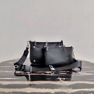 Moda composito Bag tote donne messenger bag 2 pezzo borsa della borsa della signora set tela per gli uomini presbiti mini pacchetto cross body hobo delle donne