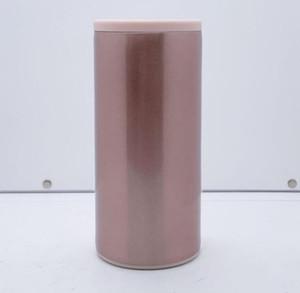 Blank 12 oz Sublimation Can Cooler 6 couleurs de transfert de chaleur Slim Can Double en acier inoxydable mur Beverage Gobelets TRANSPORT MARITIME CCA12614