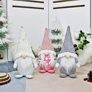 Santa Faceless Doll Christmas Decorations For Home Merry Christmas Ornament Xmas Gifts Navidad Happy New Year