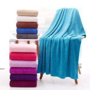 Asciugamani da bagno Solid Asciugamano Solid Robes Beach Washcloth Salon Doccia Asciugamani da viaggio Hotel Gym Swaddles SpA Body Wrap DHC5621