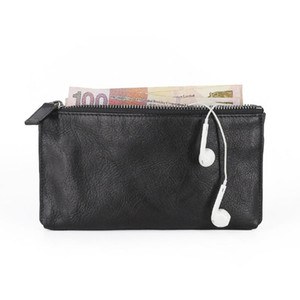 HBP best quality black genuinel leather short mens wallet with box luxurys designers wallet womens wallet purse credit card holder 49