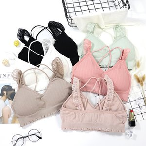 Coton Top Girls Sous-vêtements sexy confortable pour la course papillon Yoga Elasticité femmes Soutien-gorge
