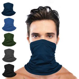 Doğa Sporları Magic Eşarp Güneş Koruyucu Yüz Bandana Kafa Hairband Turban Buz İpek Bisiklet Maske CYZ2893 Maske Caps