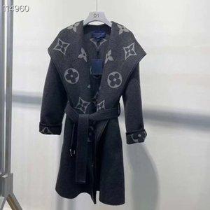 2020 nuevas señoras de la alta calidad chaqueta de la capa de la chaqueta del diseñador superior lous impresa mujer chaqueta de primavera la nueva lista simple al por mayor caliente 6SXC