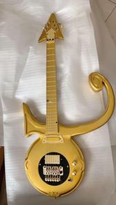 Gold Prince Symbole Hardware Guitar Gold Custom Symbole Abstrait Symbole Guitar Guitar Allguitar Factory Outlet Fabriqué des guitares