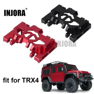 Injora 1 stücke Aluminium Metallgetriebehalterung für 1/10 RC Crawler Traxxas TRX4 TRX-4 201104