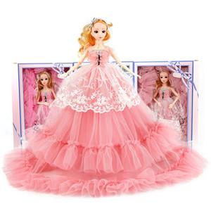 Barbie Brautkleid Puppe Mädchen Spielzeug Exquisite Geschenkbox Spielzeug