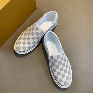 Дизайнер роскоши моды высокие каблуки VUITTON LOUIS мужские и женские спортивные ботинки с плоской подошвой тапочки хлопок сандалии сандалии wbnvv
