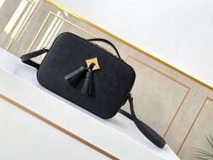 M44606 Сумка Saintonge с Tassels Camera Bag Женщина Daily Essentials Bage Bag Protection Makeup Сцепление Ladtynew Travel Travel Business Pouch