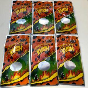 Flamin Hot Kush Resealable vazio Mylar Bolsas cookies Califórnia Sf 8ª 3.5-7g Mylar Childproof Bags toque de pele Runtz Package Embalagem wmtTar