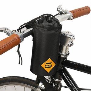 Bicicleta guiador Stem Snack Bag Alimentos Garrafa de água saco de armazenamento de bicicleta Bikepacking Touring Pendulares Duplas Pouch