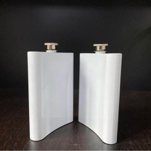Sublimation Tumblers Stainless Steel Flask Hip Flask Outdoor Portable Vamping Tumblers 8OZ Water Bottle Flagon free FASTSEA SHIPPING EWC3287