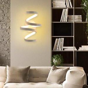 Moderno 85-240V LED Wall Mounted Light Home Bedside Aisle Iluminação Quarto Sala de Estar Escadas Decorativas Arte Lamp1